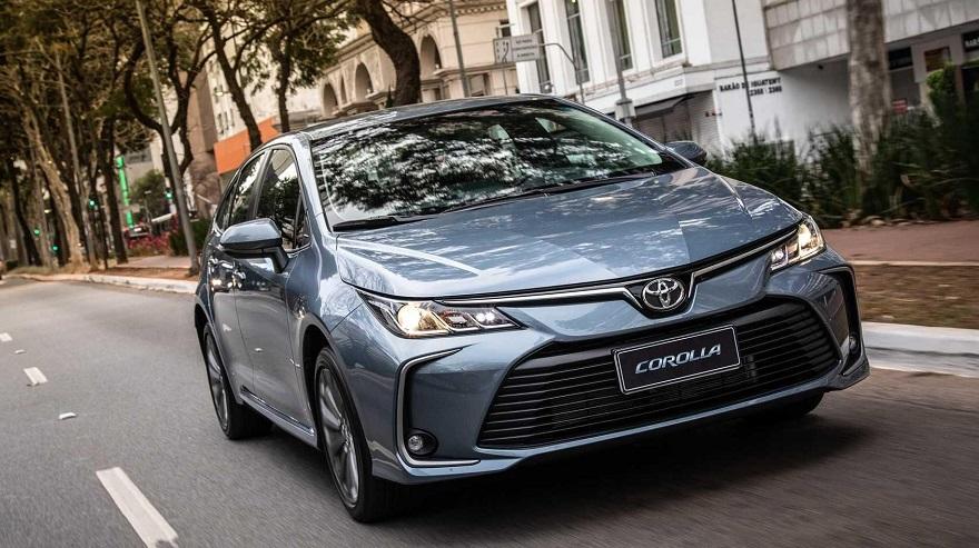 Toyota Corolla, el sedán más vendido.