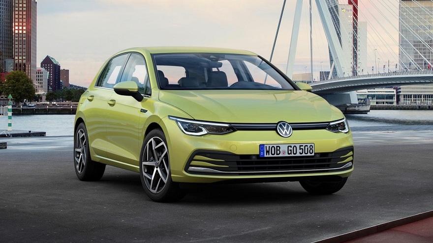 Volkswagen Golf, con ocho generaciones, sigue siendo líder.