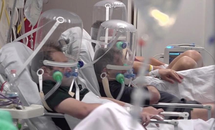 La probabilidad de colapso de las terapias intensivas, un nuevo eje de la polémica