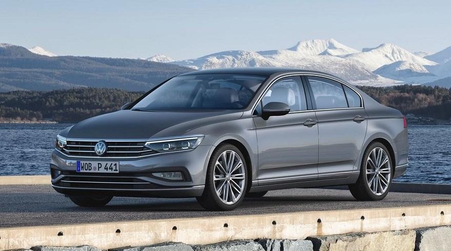 Volkswagen Passat, el sedán grande más vendido.