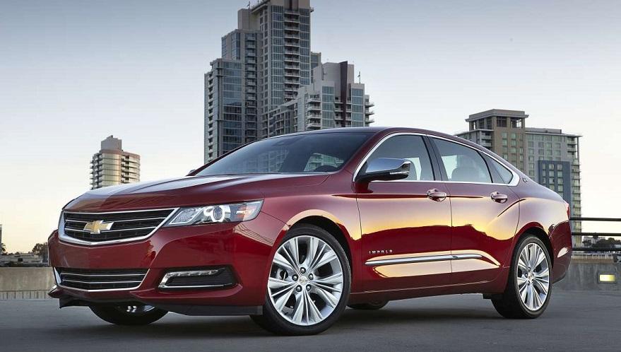 Chevrolet Impala, el sedán sigue en el podio.