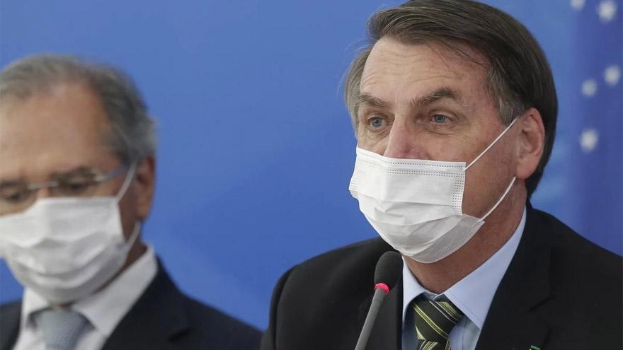 Bolsonaro militó la anti cuarentena, en oposición a varios gobernadores de Brasil.