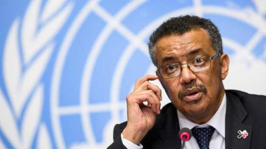 El director de la OMS anunció el ensayo Solidarity