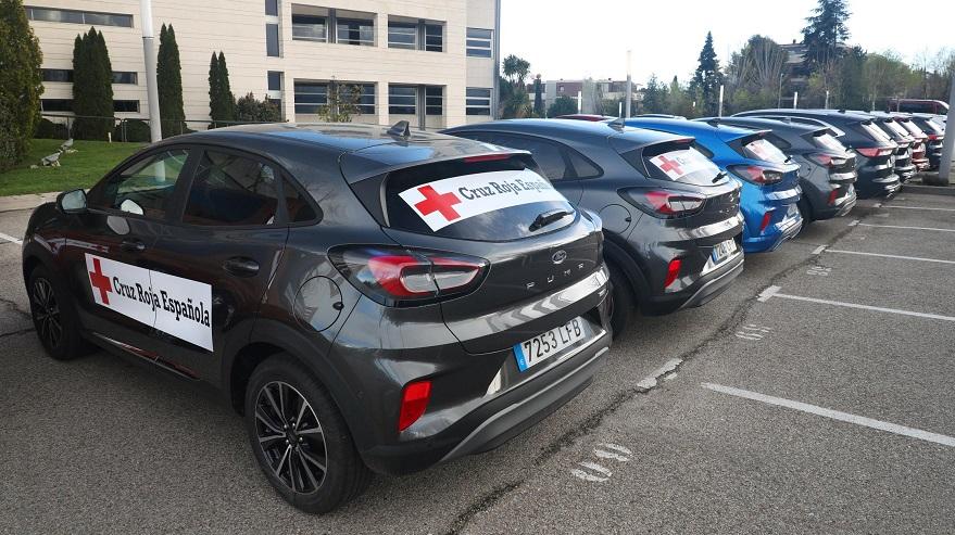 Ford cede sus autos en España para médicos.