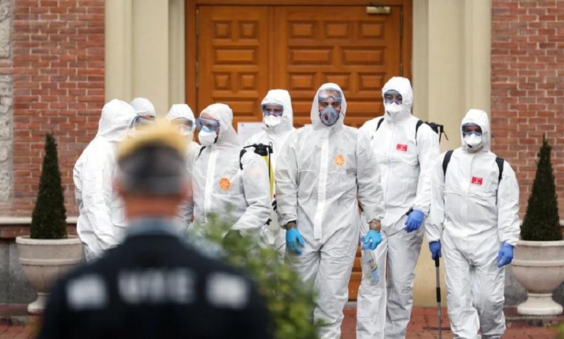 El coronavirus causó estragos en España
