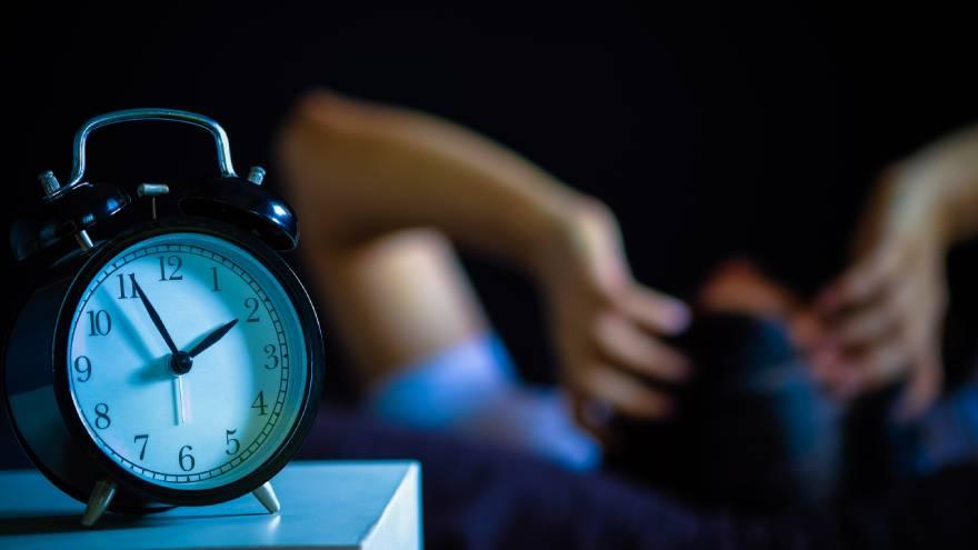 El insomnio es una de las consecuencias que puede aparecer por el Burnout