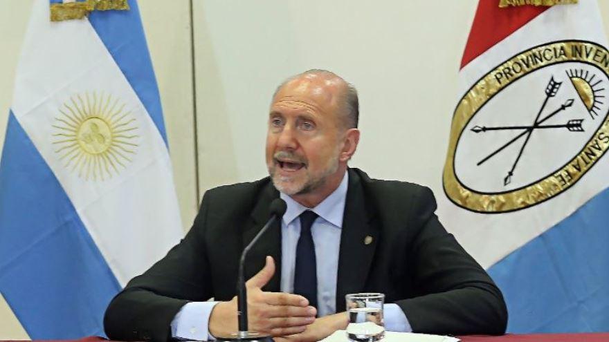 El santafesino Omar Perotti propuso un plan alternativo para Vicentin.