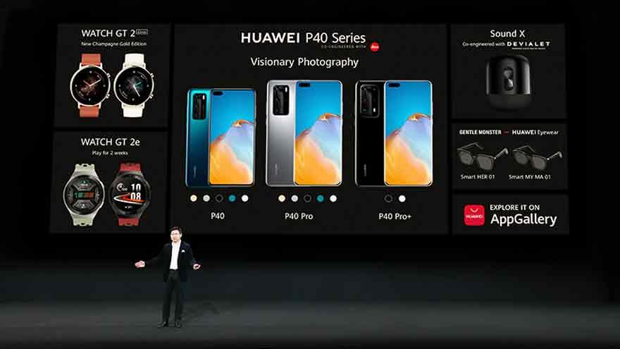 La nueva línea de móviles de Huawei está compuesta por tres modelos.
