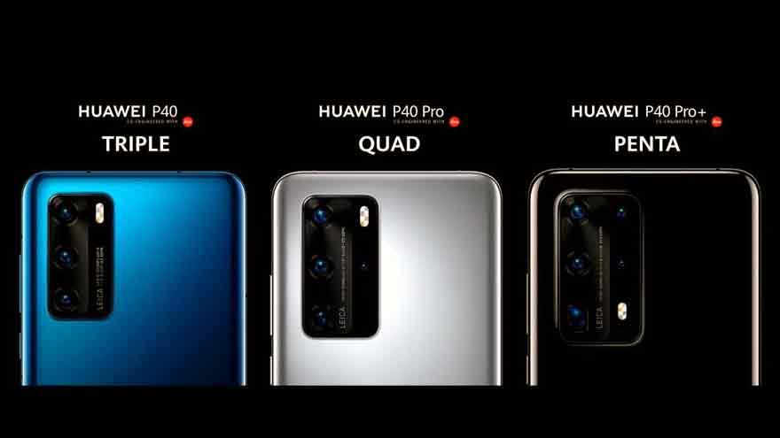 El Huawei P40 Pro+ tendrá cinco cámaras.