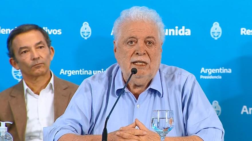 Ginés González García adelantó que no descarta nuevos endurecimientos de la cuarentena