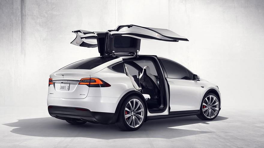 El SUV de Tesla, un eléctrico atractivo.