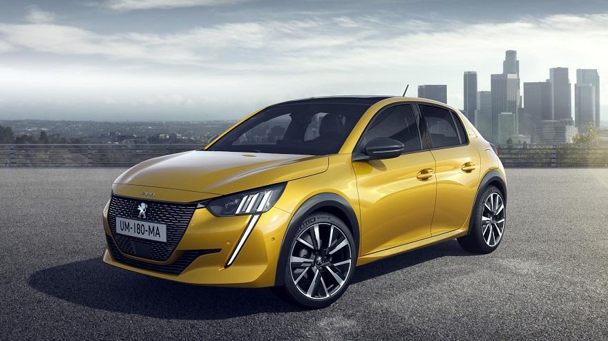 El Peugeot 208 que se fabricará en el país.