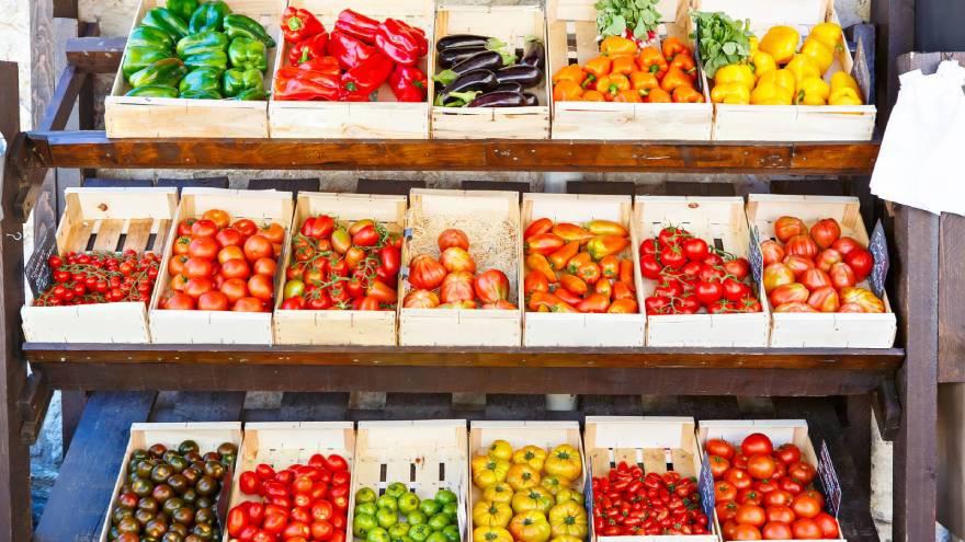 Las frutas y verduras son grandes fuentes de carbohidratos