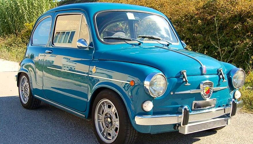 Fiat 600, también fabricado en la Argentina.