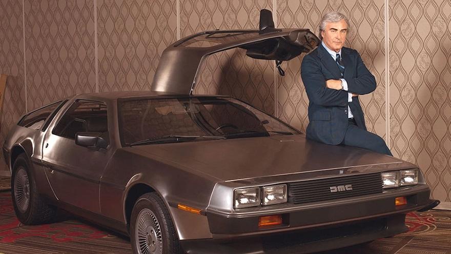 DeLorean, el creador de la marca.