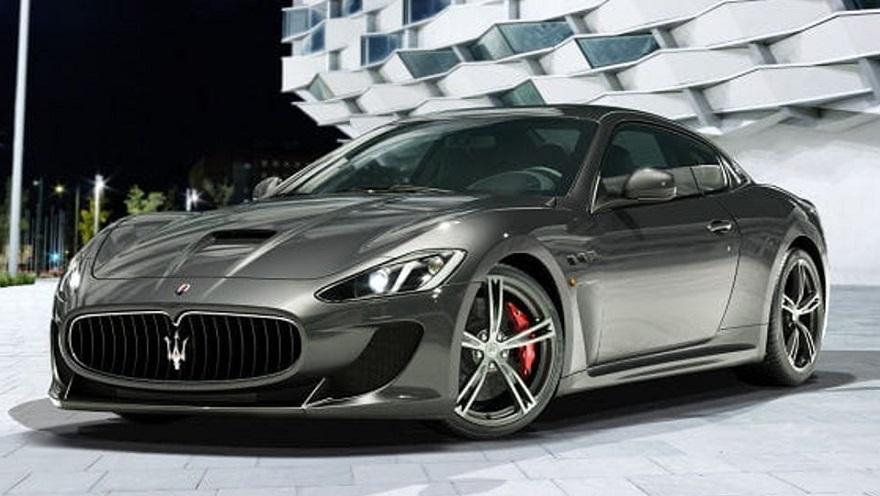 El Maserati que Lio Messi tuvo en su garaje.