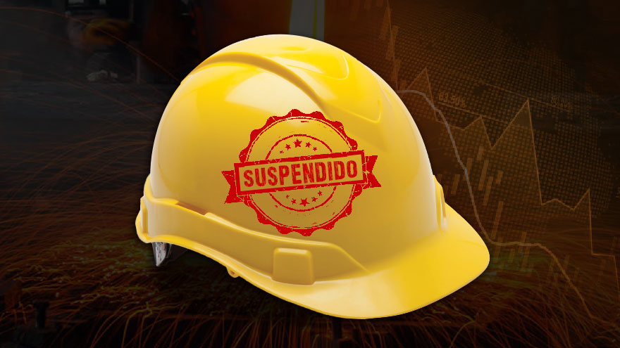 Las suspensiones en distintas industrias resultaron en un descenso de la cantidad de horas trabajadas en el país.