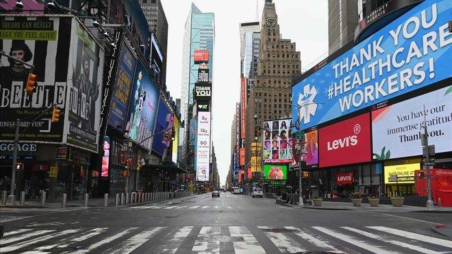 Las ciudades están vacías de gente y los negocios no generan ingresos