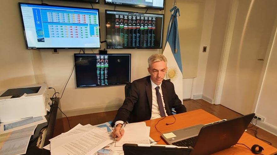 El ministro de Transporte, Mario Meoni, explicó cómo funcionará la tarjeta SUBE en la cuarentena estricta