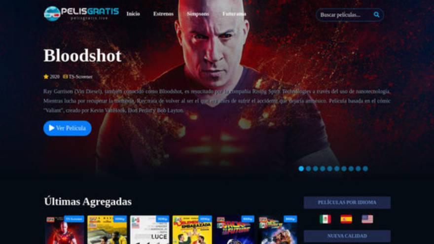Pelisgratis.live es uno de los sitios para ver títulos de manera gratuita