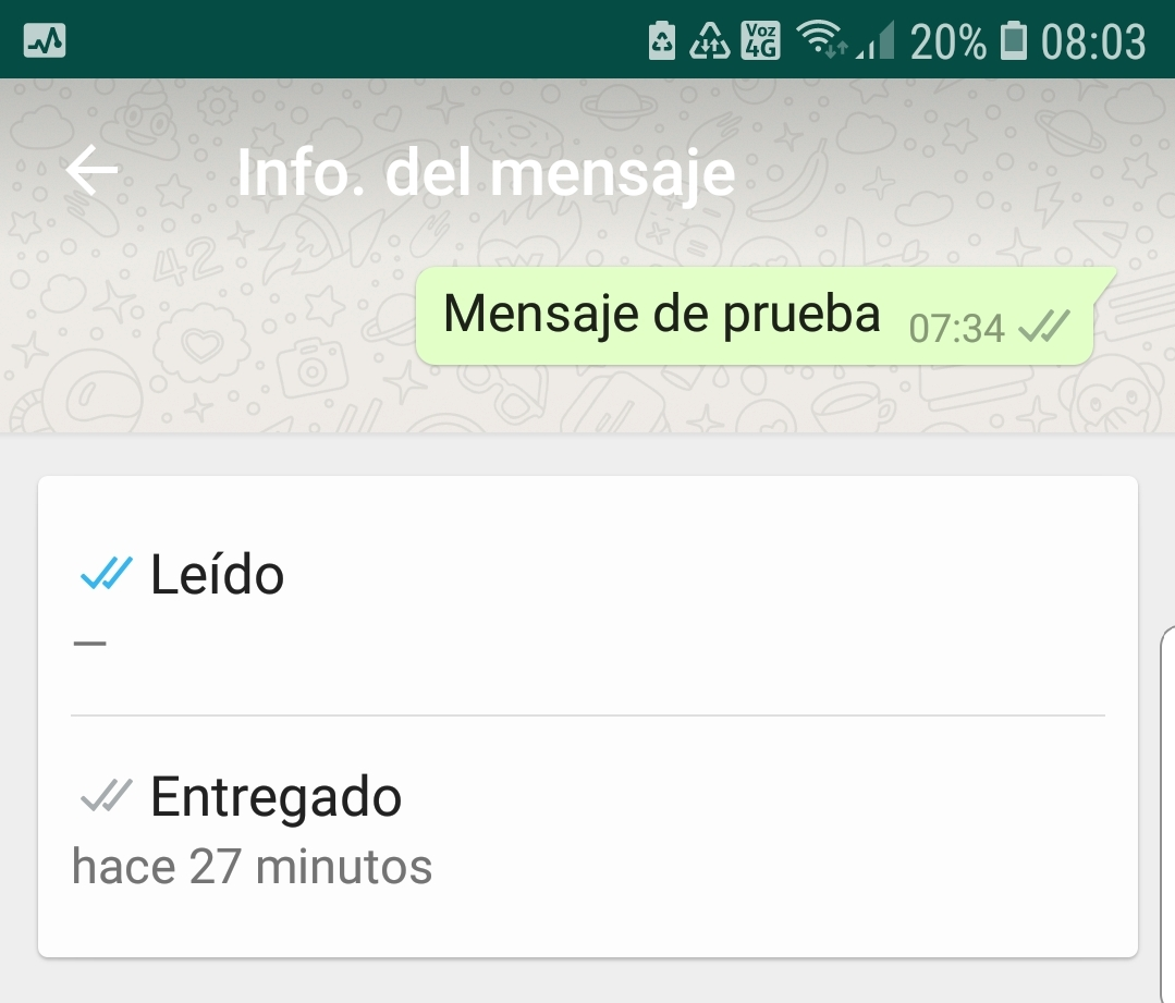 Whatsapp es uno de los servicios de mensajería que permite conocer si el mensaje fue abierto por el destinatario