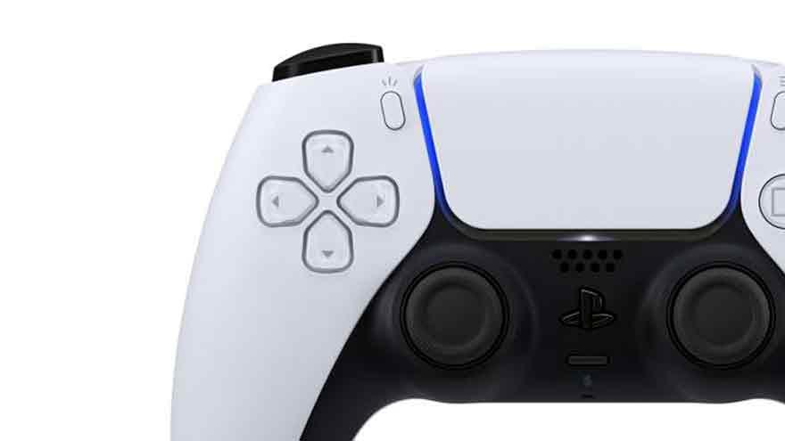Detalle del diseño de la nueva PS5.