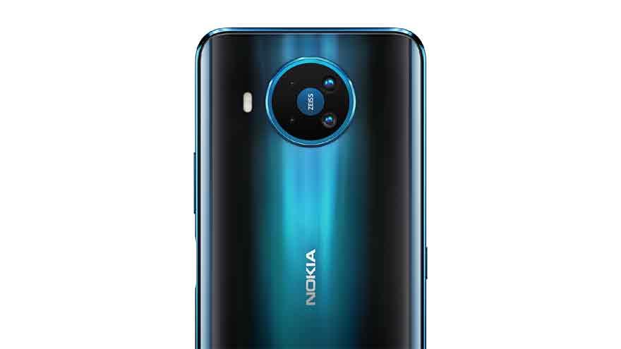 El Nokia 8.3 5G tiene un sistema de cuatro cámaras conformado por 64 MP + 12 MP + 2 MP + 2 MP.