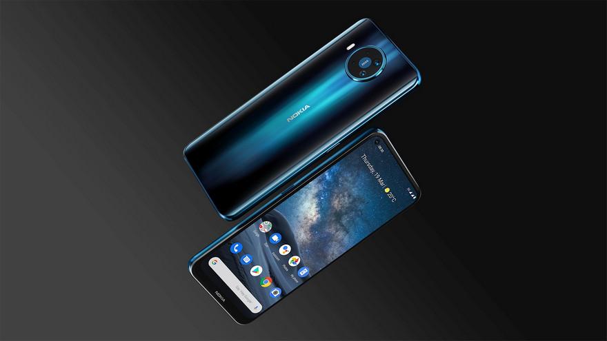 El teléfono móvil Nokia 8.3 incluye 5G.