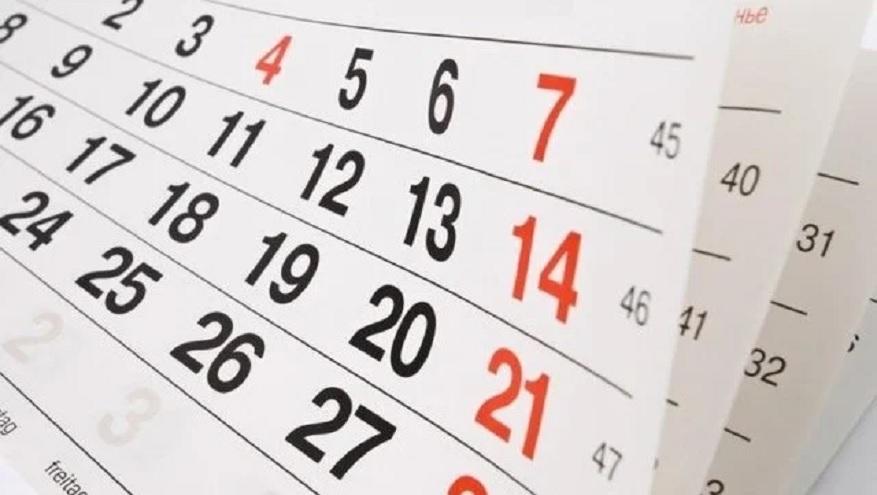 Feriados nacionales 2020 y días no laborables