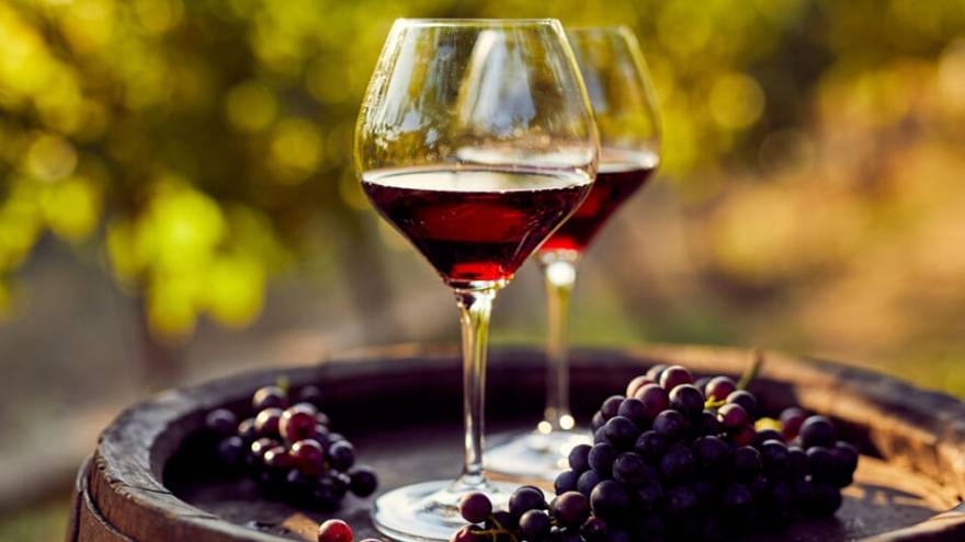 El vino nunca debe ser opaco, siempre brillante