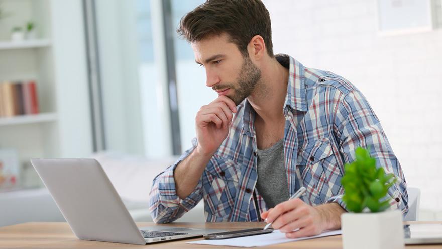 Separar el espacio y el tiempo de trabajo del personal al trabajar desde casa