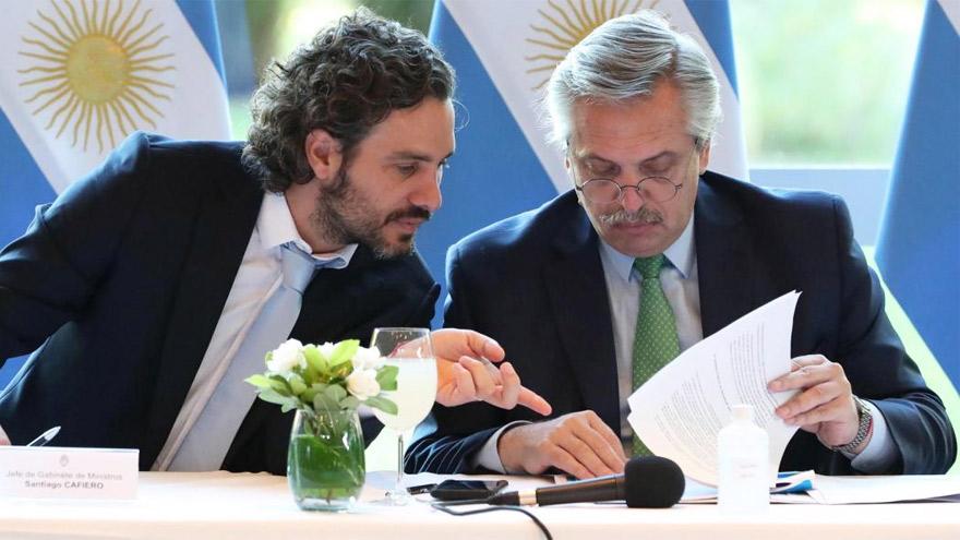 El jefe de Gabinete, figura central del armado político de Fernández.