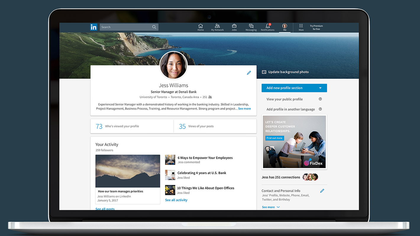 Los consejos de expertos de LinkedIn para buscar trabajo en esa plataforma