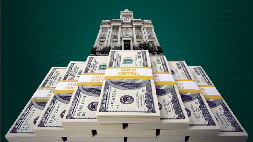 El economista advirtió que las reservas líquidas son prácticamente nulas