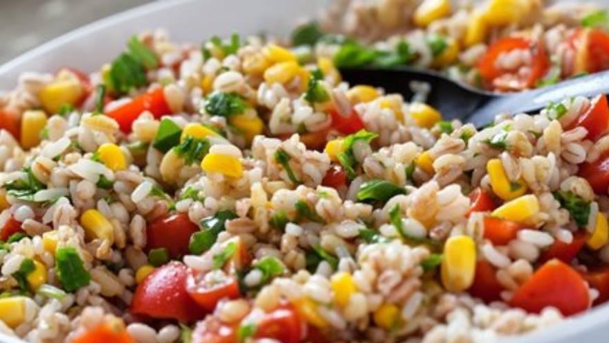 Así se ve el arroz yamaní