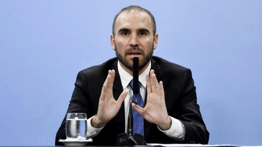 El ministro de economía, Martín Guzmán, tuvo que extender el plazo del canje de deuda