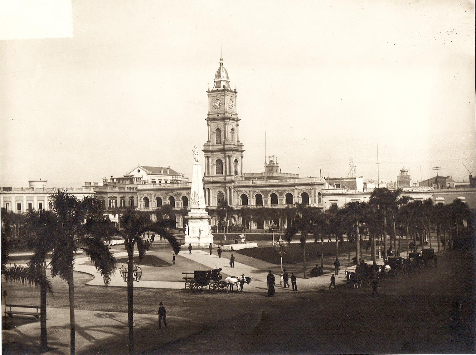 ¿Cómo era el edificio original del Cabildo de Buenos Aires?