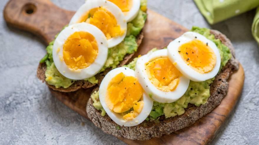 Los huevos se pueden incluir en cualquier comida