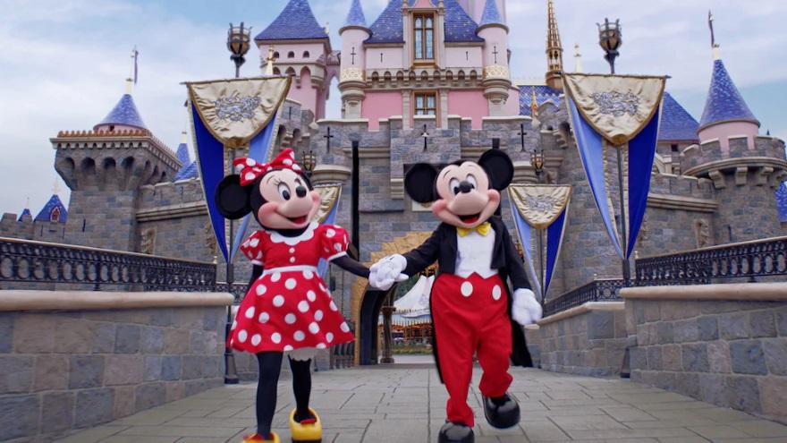 Mickey y Minnie son la gran pareja de las películas de Disney