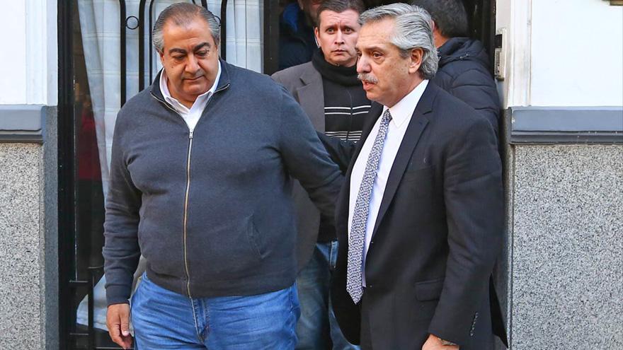 Héctor Daer y Alberto Fernández: el Gobierno quiere recomponer relaciones con los sindicatos mediante un pacto salarial