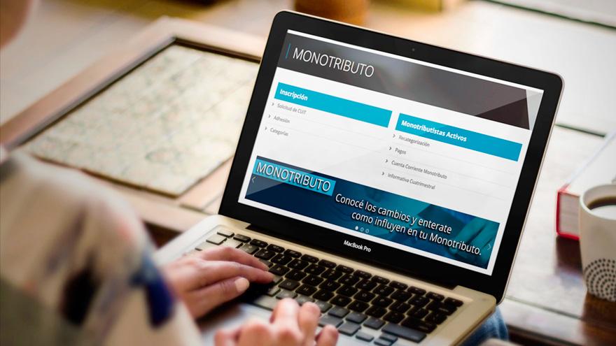 Desde el sitio web de la AFIP se puede gestionar el préstamo online a tasa 0% para monotributistas y autónomos