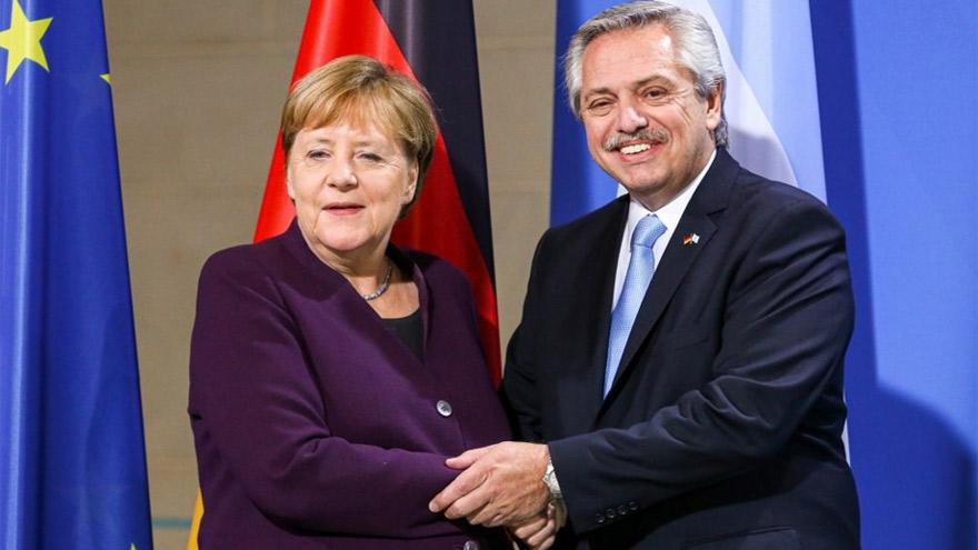 Merkel dijo que Argentina es un socio importante