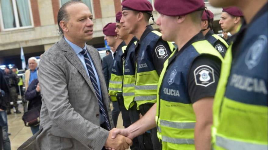Sergio Berni reconoció que los delitos aumentarán