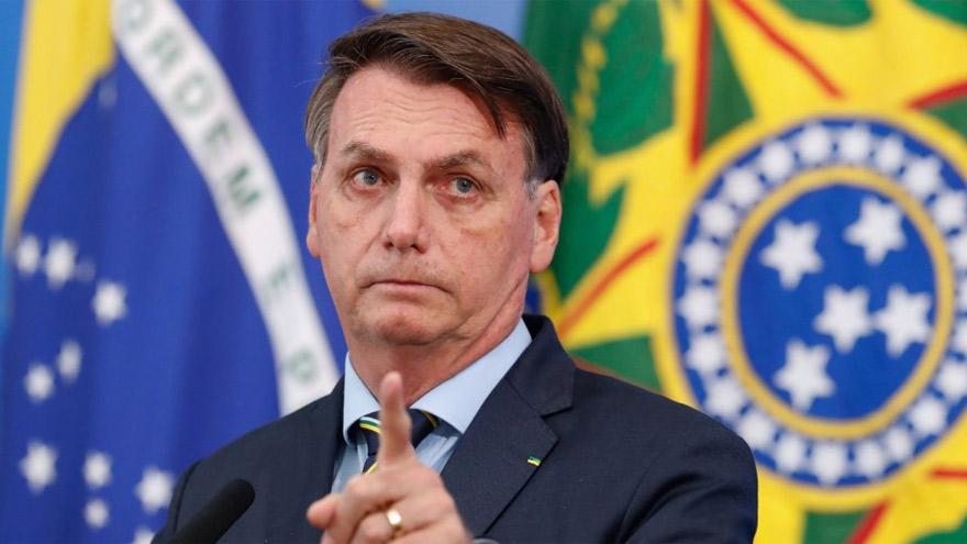 Jair Bolsonaro volvió a criticar la política argentina.