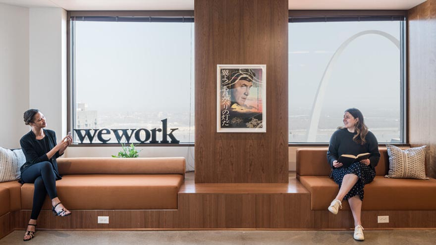 WeWork reacondicionó sus espacios en todo el mundo para preparar el regreso a las oficinas