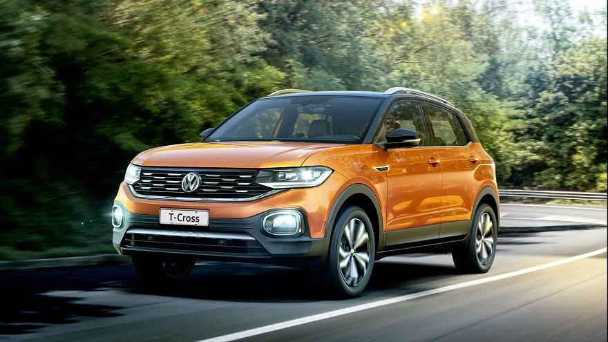Volkswagen T-Cross, el SUV más vendido entre los chicos.