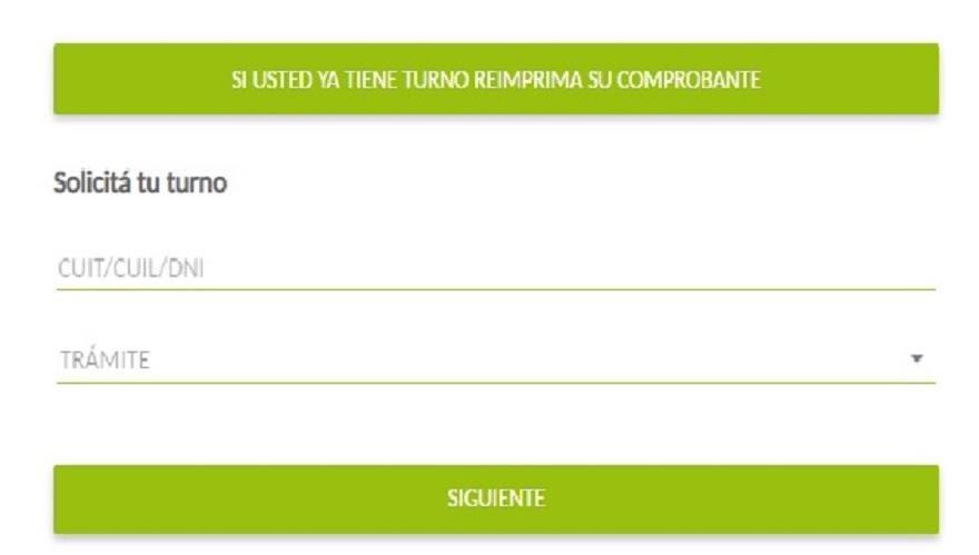 En la parte inferior de la sección específica de la web del Banco Provincia se puede pedir turno para ser atendido en sucursal
