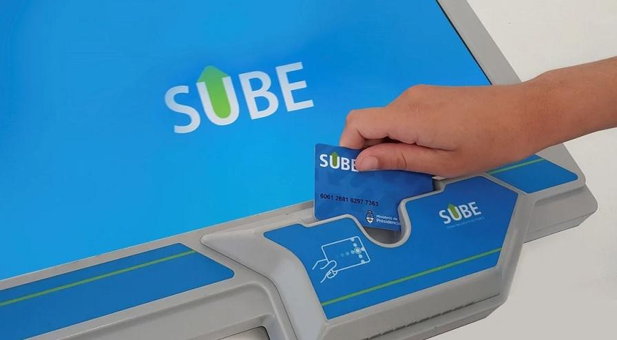 Es posible también cargar saldo a la Tarjeta SUBE por homebanking