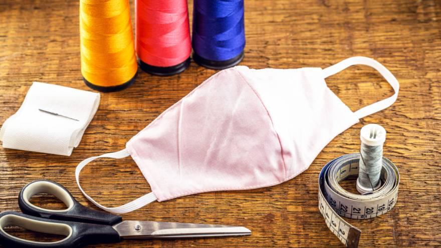 Algunos estudios señalan que el algodón es la tela más adecuada para los barbijos caseros