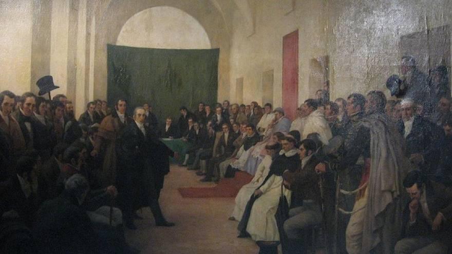 La sesión del Cabildo Abierto